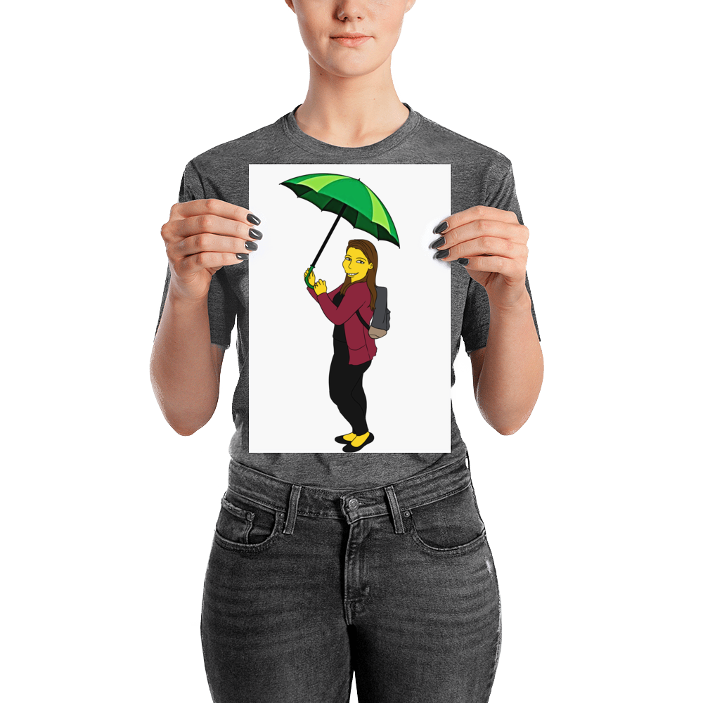 Poster  I'm Single - Full Body - Personalized Avatar